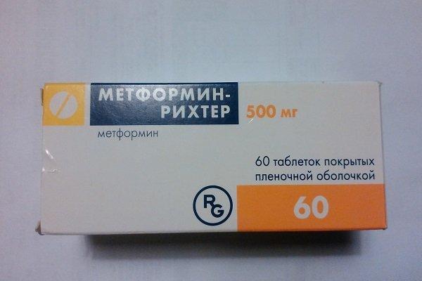 метформин от сахарного диабета
