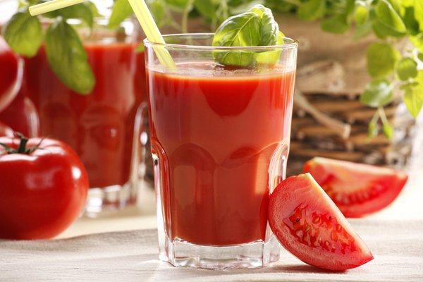 есть ли сахар в в томатном соке