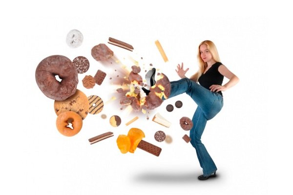 Девушка проводит профилактику сахарного диабета 1 типа