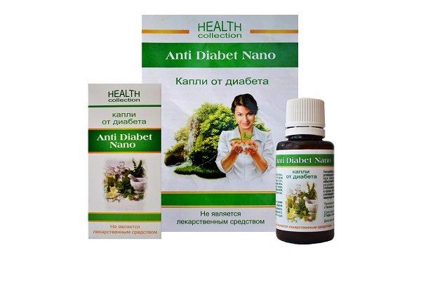 Капли Anti Diabet Nano